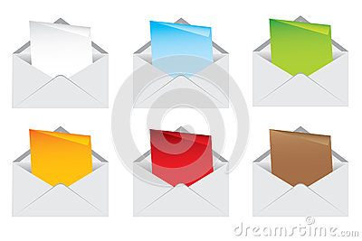 Envelope and note color