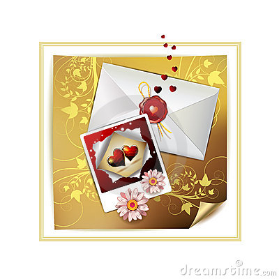 Envelope and photo