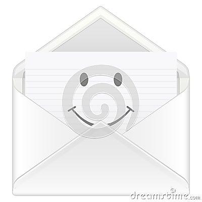 Envelope smile