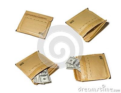 Envelope width money