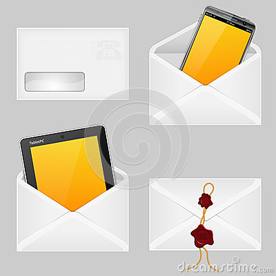 Envelopes with Smart Phone