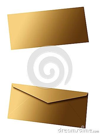 Enveloppe blanc II