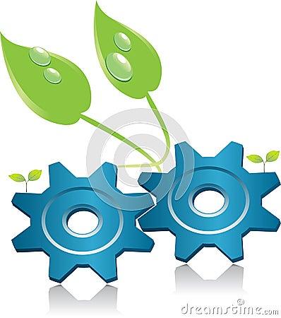 Environment energy symbol