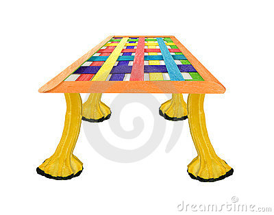 Environment friendly fantasy table