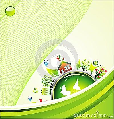Environment Green Background