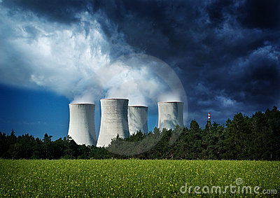 Environment, nuclear power station