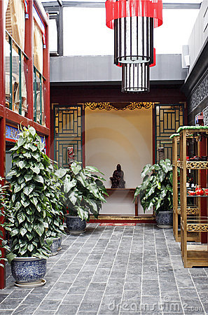 Free Environment Of The Teahouse. Royalty Free Stock Image - 5274706