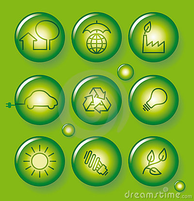 Environment protection buttons