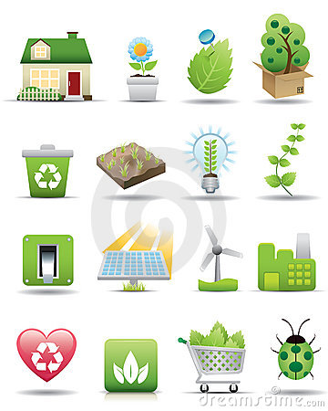Free Environment Protection Icon Set -- Premium Series Royalty Free Stock Photography - 8835017