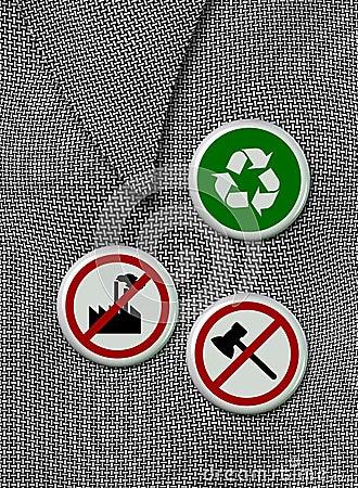 Environmental badges