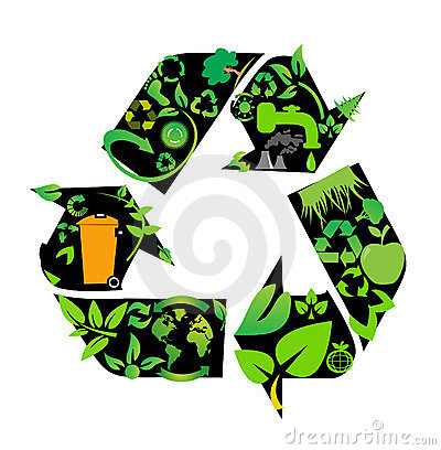 Environmental conservation symbols