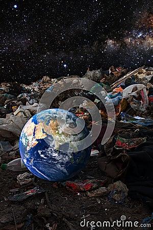 Environmental contamination concept