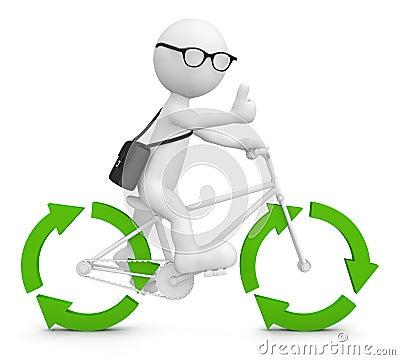 Free Environmental Friendly Recycle Arrow Green Concept Stock Photos - 50286913