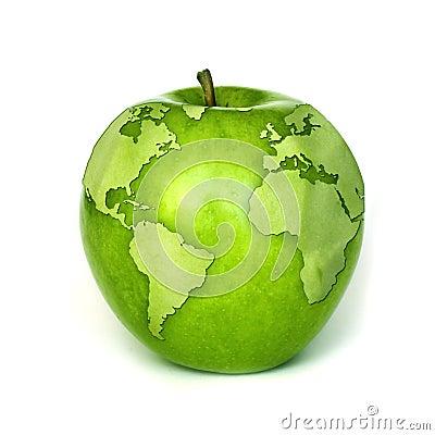 Environmental green concept