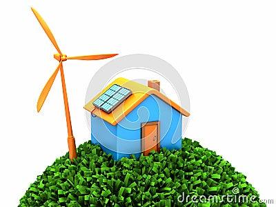 Environmental house