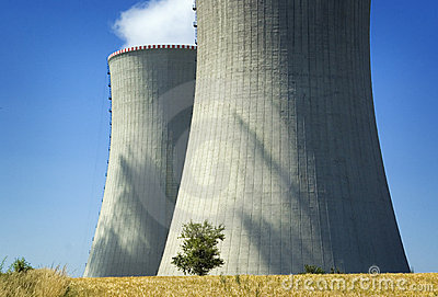 Environmental, nuclear power against nature