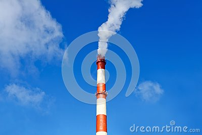 Environmental pollution from heavy industry