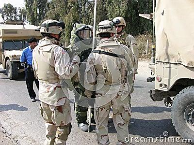 EOD Team, Baghdad