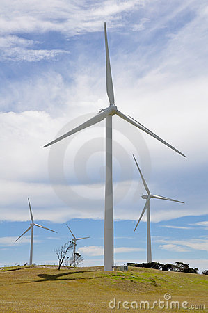 Eolian generator park, Australia