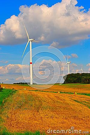 Eolian turbines
