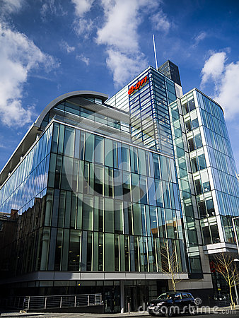 Eon Headquarters Nottingham Editorial Photo