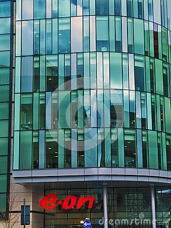 E.on headquarters, Nottingham Editorial Photo