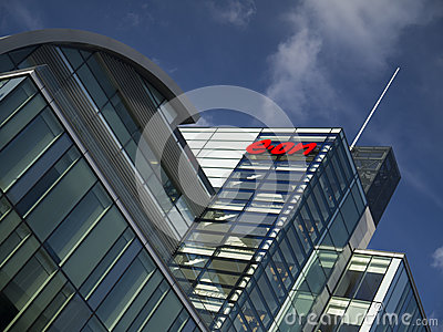 Eon Power Company Headquarters Nottingham Editorial Stock Photo