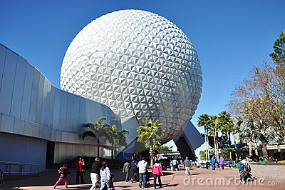 Epcot Center, Disney World Orlando, Florida Editorial Stock Image