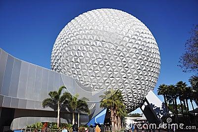 Epcot Center, Disney World Orlando, Florida Editorial Stock Photo