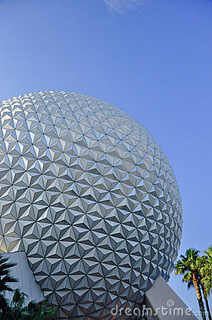 Epcot globe Editorial Photo