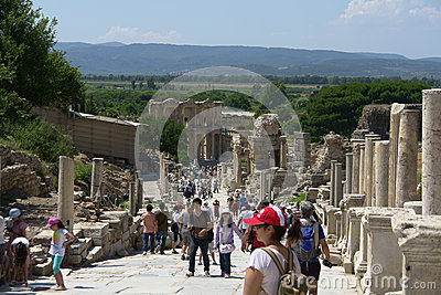 Ephesus Editorial Stock Photo