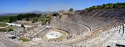 Ephesus amfiteatrze