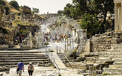 Ephesus Ancient Ruins, Turkey Editorial Image