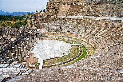 Ephesus ancient theatre