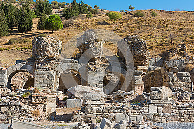 Ephesus Greek ruins in Anatolia Turkey