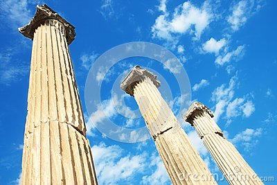 Ephesus hadrian寺庙火鸡