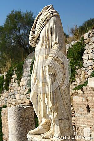 Ephesus headless statue