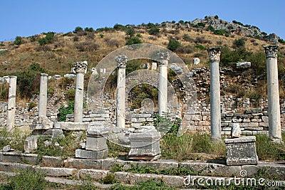 Ephesus Izmir rujnuje indyka