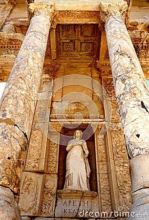 Free Ephesus Library Royalty Free Stock Image - 17173536
