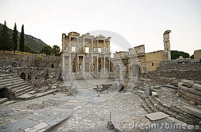 Ephesus. Library of Celsus, Gate Mazeusa and Mithr
