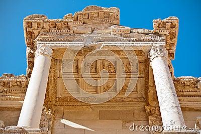 Ephesus library details