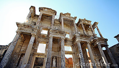 Ephesus library in Turkey