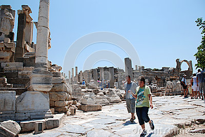 Ephesus, near Izmir, Turkey Editorial Stock Photo