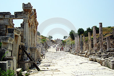 Ephesus road Editorial Photo
