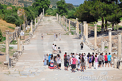 Ephesus, Turkey Editorial Stock Image