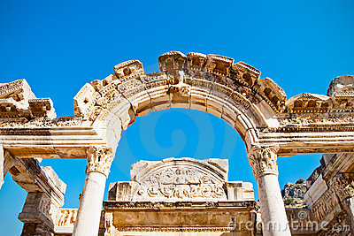 Ephesus wölbte Tür