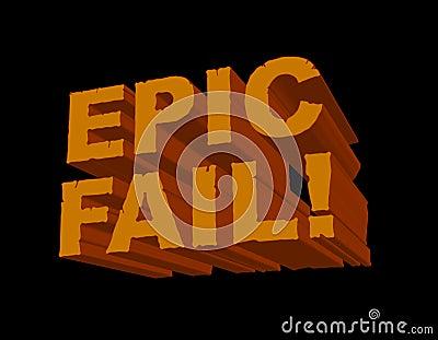 Epic Fail! 3D