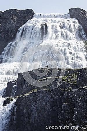 Epic Waterfall Dynjandi