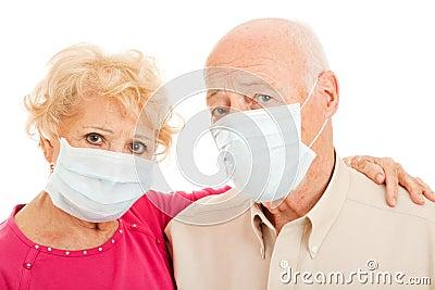 Las máscaras para la persona y el ojo después de 45 años