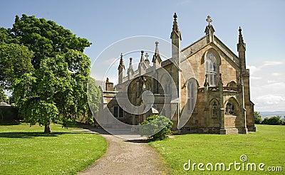 Episcopal church in Scottish village.
